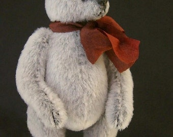 Miniature Artist Bear PDF Pattern for SILVER by Aerlinn Bears