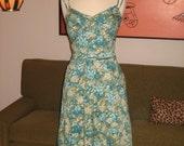 50s inspired Ann Taylor Summer sundress