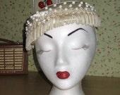 50s Original Ivory Hat