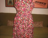 50s Inspired Floral Plus Size Sundress