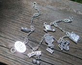 Relief Society version 1 - Latter Day Saint Silver charm Bracelet