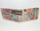 Comic Book Wallet// Superman and Jimmy Olsen