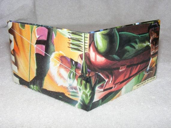 Comic Book Wallet// Green Arrow (Connor Hawke)