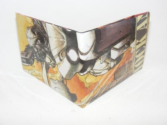 Comic Book Wallet// Moon Knight