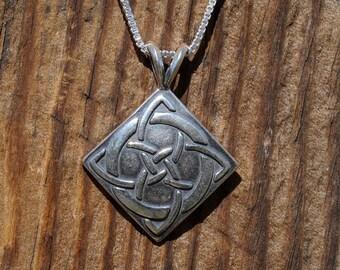 Celtic Lucky Knot  Pendant