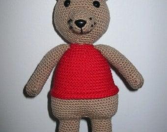 Little Bear - PDF crochet pattern