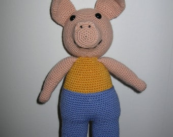 Pig - PDF crochet pattern
