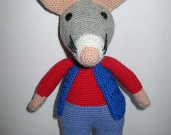 Rat - PDF crochet pattern