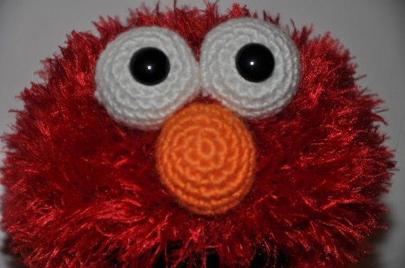 Elmo - PDF crochet pattern