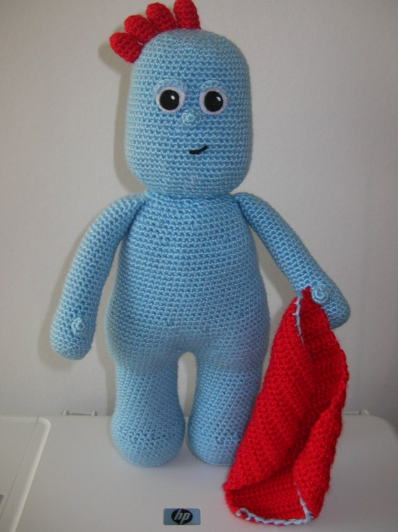 Knitting Pattern Iggle Piggle : Iggle Piggle - PDF crochet pattern from Fjukten on Etsy Studio