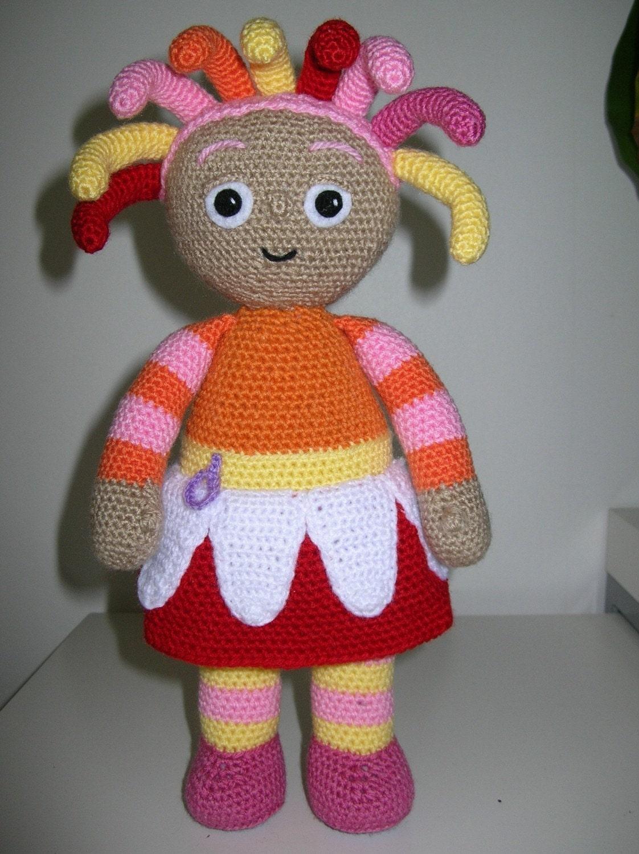 Knitting Pattern For Upsy Daisy : Upsy Daisy PDF crochet pattern