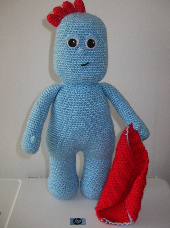 Knitting Pattern For Iggle Piggle Toy : Iggle Piggle PDF crochet pattern