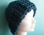 Crochet pattern : vintage lace hat for ladies