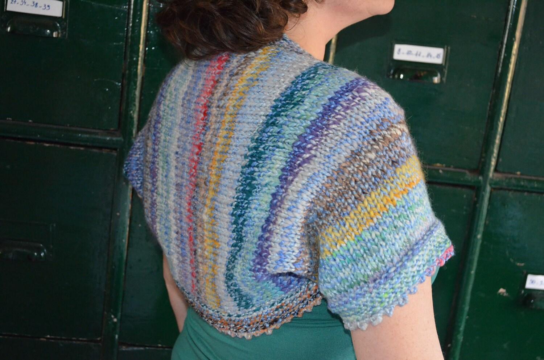 Knitting Pattern Cowl Shrug : Knitting pattern : shrug cowl scarf by vicarno on Etsy