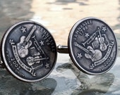 Tennessee State Quarter Cufflinks