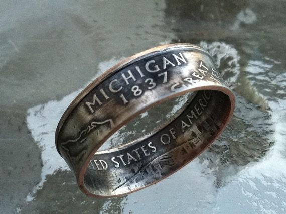 Michigan State Quarter size 7 Ready to ship