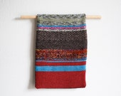 Handwoven Wall Hanging, Textile Art