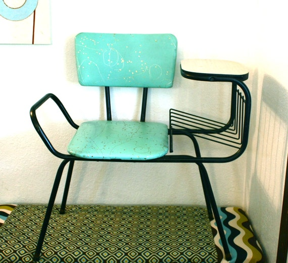 Telephone bench, chair, phone book holder, Gossip chair, Telephone seat