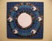 China Fish Mosaic  Mirror