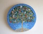 Happy Mosaic Tree