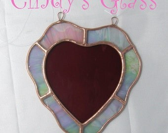 Stained Glass Valentine Heart