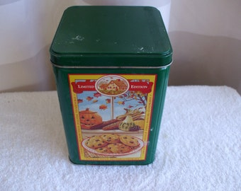 Green Nestle Limited Edition Toll House Cookie Tin