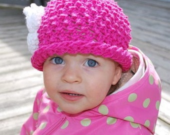 Cotton rolled brim beanie--for Baby Gaga-Hat No. 53