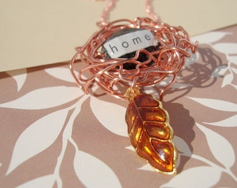 A Place To Call Home Bird's Nest Necklace