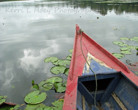 Nautical Photography Peru Travel, Oxbow Lake 8X10