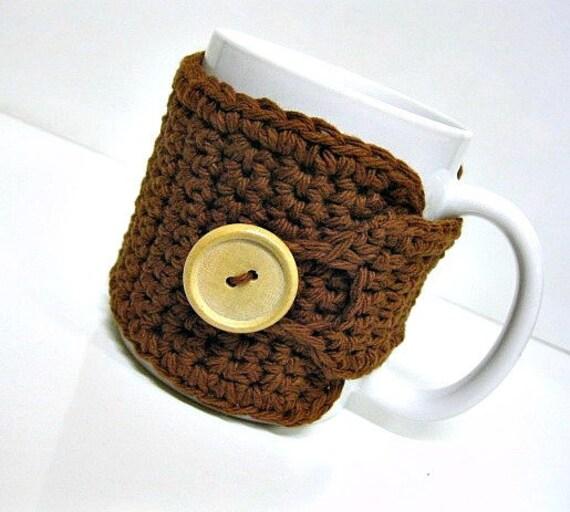Coffee Cozy in Clover, Tea Cozy, Coffee Accessories, Coffee Gift, Hostess Gift, Coffee Lovers Gift, Teachers Gift, Coffee Cup Cozy