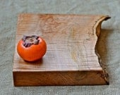 Country Kitchen Cutting Board, Extra Thick with a Natural Wood Edge 479
