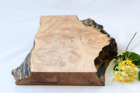 Homestead Cutting Board, Extra Thick, Salvaged Wood with a Natural Edge 654, Ready to Ship