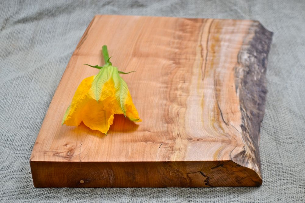 rustic wood cutting board natural edge by redonionwoodworks,