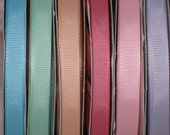 12 yards Amazing quality grosgrain ribbon 3/8 great for korkers and any crafts