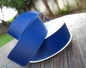 Navy Blue grosgrain ribbon 7/8 inch