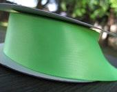 Neon Green Double saitn 1.5 inch ribbon