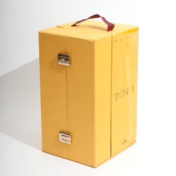 Unique Made in Italy Tessitura Monti  Dogi Fabric Sample Case