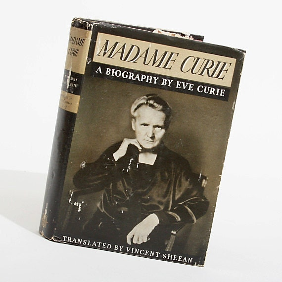 Hardback Book Madame Curie A Biography by Eve Curie