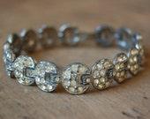 vintage HALF MOON 1930s bracelet