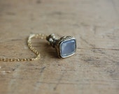 vintage fob / 1920s jewelry / GENTRY