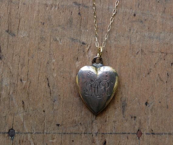 vintage charm necklace / 1900s jewelry / antique / BELLE EPOQUE