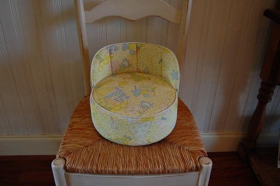 Vintage Vinyl Baby Booster Seat By Retrodaisygirl On Etsy