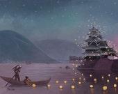 Japanese Festival of Lights 8X10 - Help Japan