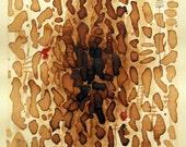 Dark Roast   -   Original coffee painting