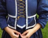 RESERVED for merylwaltz  17th century  Jacobean dress costume
