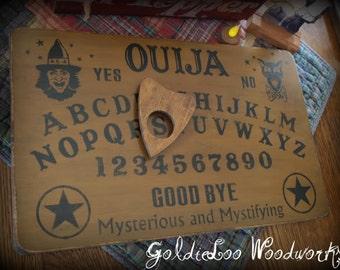 Primitive, Folk Art ,Halloween Ouija Game Board