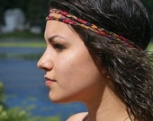 Double stranded, hippie headband.