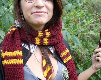 Gryffindor, harry potter, house scarf.