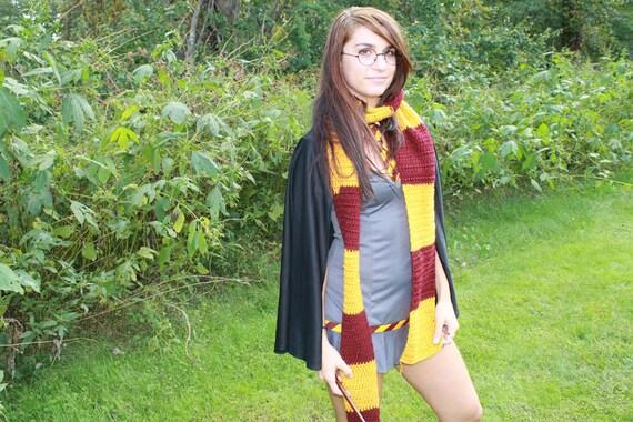Gryffindor, harry potter, house scarf.