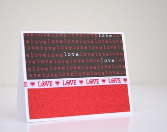 Valentine's Day Card- LOVE